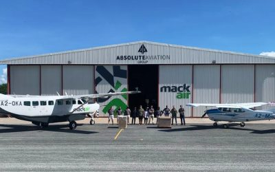 Mack Air and Pharma Group TEAM UP! – Quicker COVID-19 Testing