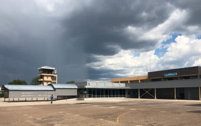 Maun airport makeover complete
