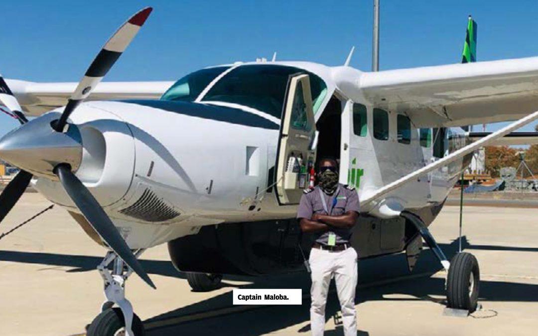 Airspace News Kenya: Kenyan pilot in the skies of Okavango Delta