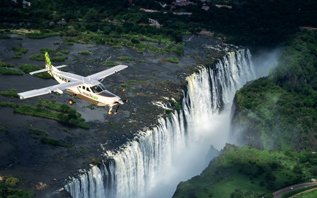 Mack Air, the FIRST Airline offering International Scheduled Flights between Kasane and Victoria Falls…